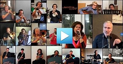 Coronazeit Jazzfire Bigband Martin Greif