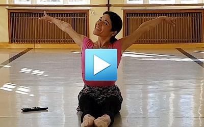 Aufwärmübung für kleine Ballerinas Teil 2